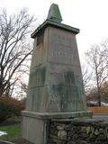 Conde Nast concrete pillar